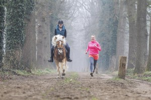 ride and run hardlopen rennen